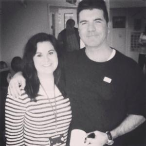 Just me and Mr. Cowell...